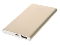 Портативный аккумулятор PowerBank 3000mAh, Activ Vitality, золотистый
