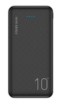 Портативный аккумулятор PowerBank 10000mAh, Floveme P200, 2хUSB, черный