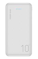 Портативный аккумулятор 10000mAh, Floveme P200, 2хUSB, белый