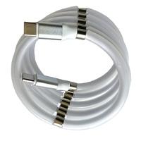 Кабель Type-C NN, круглый магнитный шнур, 1м