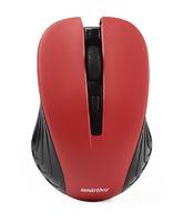 Мышь беспроводная, Smart Buy 340G ONE, оптическая, 3кн, бордовый
