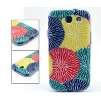 Чехол-накладка на Samsung S4 mini силикон, flowers