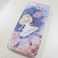 Чехол-накладка на Apple iPhone 5/5S, пластик, dream girl