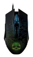 Мышь проводная, игровая, Smart Buy 734 RUSH Nox SBM-734G-K, оптическая, черный
