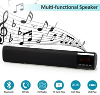 Портативная колонка, NN TV-28, Bluetooth, USB, FM, AUX, TF, 10Вт, 1800 mAh