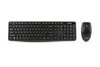 Набор беспроводной клавиатура + мышь, Smart Buy SBC-235380AG-K, полноразмерная, черный