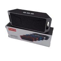 Портативная колонка, Орбита 308, Bluetooth, USB, FM, AUX, microSD, черный
