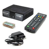 ТВ ресивер, цифровой DVB-T2, D-Color DC911HD, RCA