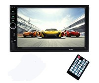 Автомагнитола Podofo 7018B, 2DIN, Bluetooth, FM, USB, TF, AUX, камера(опц.), пульт