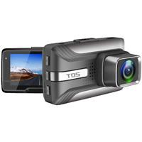 """Видеорегистратор TDS TS-CAR22, FHD, 2.45"""", черный"""
