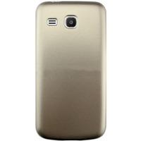 Чехол-накладка на Samsung Trend 3 (G3502) пластик, золотистый