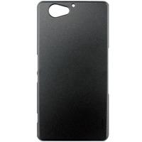 Чехол-накладка на Sony Xperia Z2 compact пластик, черный