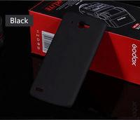 Чехол-накладка на Lenovo A606 пластик, черный