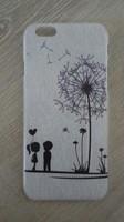 Чехол-накладка на Apple iPhone 6/6S, пластик, flowers 11