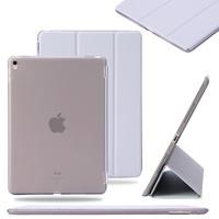 Чехол Smart-cover для Apple iPad 2/3/4, полиуретан, пластик, серый