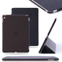 Чехол Smart-cover для Apple iPad 2/3/4, полиуретан, пластик, черный