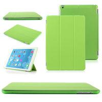 Чехол Smart-cover для Apple iPad mini 1,2,3, полиуретан, зеленый