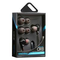 Гарнитура проводная, 3,5мм, Smart Buy ORB SBH-740, вакуумная, 1.2 м, черный