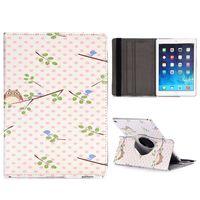 Чехол Smart-cover для Apple Ipad Air 2, кожа, вращающийся, owl 2