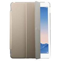 Чехол Front-cover для Apple iPad mini 1,2,3, полиуретан, золотистый