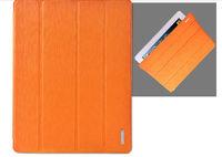 Чехол Smart-cover для Apple iPad 2/3/4, Remax, полиуретан, оранжевый