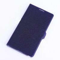 Чехол-книжка на Lenovo S660 кожа, черный