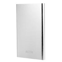 Портативный аккумулятор PowerBank 4500mAh, Activ Vitality, белый