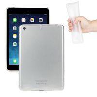 Чехол-накладка для Apple iPad mini 1,2,3, силикон, прозрачный