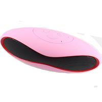 Портативная колонка, X6 mini, Bluetooth, USB, microSD, розово-красный