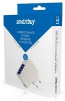 Сетевое зарядное устройство USB, SmartBuy QUATTRO, 4.2A, 4xUSB, белый (SBP-8100)