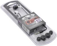 Наушники Smart Buy MUSIC POINT, вакуумные, 1.2 м. черный/белый (SBE-2510)