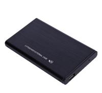 """Бокс для HDD, 2.5"""", USB3.0, USB3.0-USB3.0, черный (без гарантии: без кабеля)"""