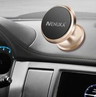 Автомобильный держатель, Nenuka, магнитный, золотистый