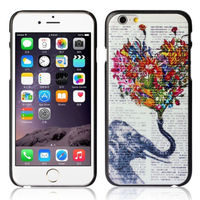 Чехол-накладка на Apple iPhone 6/6S, пластик, elephant 3