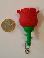 Память USB 2.0 Flash, роза, красный, 8 Gb