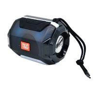 Портативная колонка, TG-162, Bluetooth, USB, microSD, FM, подсветка, черный