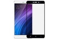 Защитное стекло Xiaomi Redmi 4A на дисплей, 4D, черный