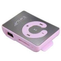MP3-плеер, клипса, пластик, microSD, фиолетовый