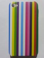 Чехол-накладка на Apple iPhone 4/4S, пластик, матовый, colors line