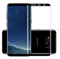 Защитное стекло для Samsung Galaxy S9 на дисплей, 3D, черный