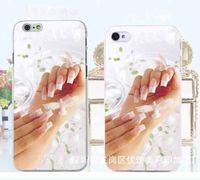 Чехол-накладка на Apple iPhone 5/5S, пластик, wedding style, #1