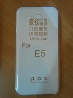 Чехол-накладка на Samsung E5 силикон, ультратонкий, прозрачный