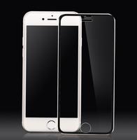 Защитное стекло Apple iPhone 6/6S 3D, окантовка на дисплей, черный