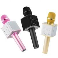 Портативный микрофон караоке, Орбита Q7, Bluetooth, USB, FM, AUX, microSD, радио