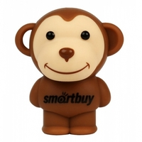 Память USB 2.0 Flash, SmartBuy, Wild series Monkey, 8 Gb