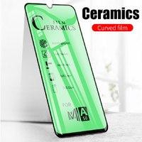 Защитное керамическое стекло Samsung A50/A20/A30/A30s/A40s/A50s/A31/M21/M30/M30s/M31, с рамкой, 4D,