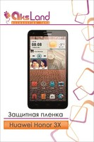 Защитная пленка на дисплей Huawei Honor 3X (G750)