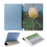 Чехол Smart-cover для Apple Ipad Air, полиуретан, лотос