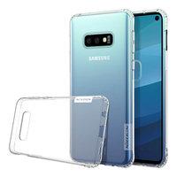 Чехол-накладка на Samsung S10e силикон, ультратонкий, прозрачный