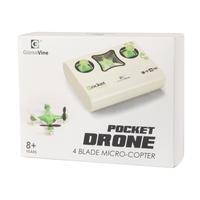 Квадрокоптер Gizmo Vine Pocket, зеленый